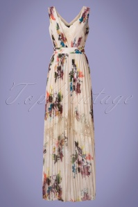 Little Mistress Cream Floral Multicolored Maxi Dress 108 57 24438 20180529 0005w