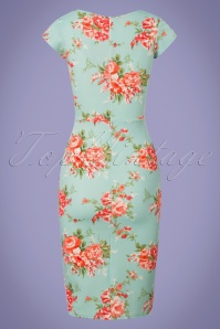Vintage Chic Floral Pencil Dress 100 39 25540 20180531 0005W