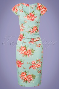 Vintage Chic Floral Pencil Dress 100 39 25540 20180531 0001W