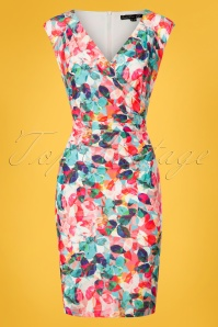 Smashed Lemon Multicolored Pencil Dress 100 59 26095 20180529 0004W