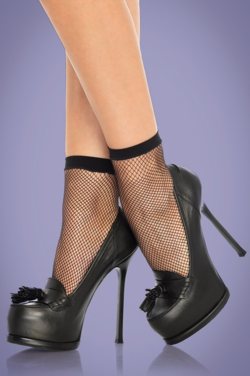 Rouge Royale 50s Fishnet Anklets 189 10 26333 01
