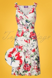 TopVintage Boutique Collection Janice Floral Dress 100 59 25991 20180529 0001wv