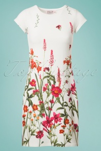 Vintage Chic White Floral Tunic  106 59 24475 20180531 0002w