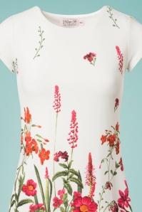 Vintage Chic White Floral Tunic  106 59 24475 20180531 0002c