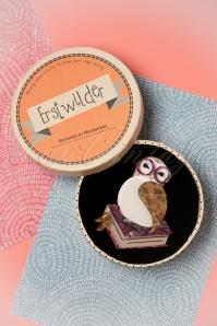 Erstwilder Studious Owl Brooch 340 59 26284 04062018 008W