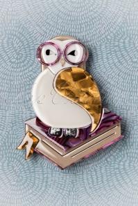 Erstwilder Studious Owl Brooch 340 59 26284 04062018 003W