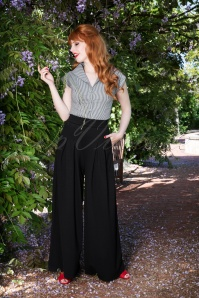 70s Indiana Trousers in Black