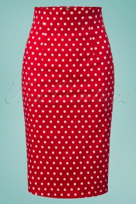 Dolly and Dotty Polkadot Pencil Skirt 120 27 26291 20180605 0001w