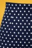 Dolly and Dotty Navy Polkadot Pencil Skirt 120 39 26289 20180605 0002