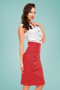 Dolly and Dotty Polkadot Pencil Skirt 120 27 26291 20180605 0004