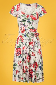 TopVintage Boutique Collection White Floral Dress 102 59 25962 20180605 0001w