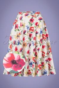 Vintage Chic Floral Skirt 122 59 26266 20180608 0003wv