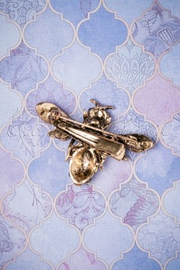 Foxy Bee Brooch 340 80 26429 0625201801 02W