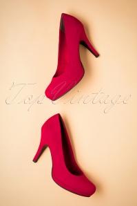 Tamaris 50s Classy Lipstick Red Pumps 400 20 25774 06272018 017W