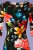 Vintage Chic Damboru Floral Pencil Dress 100 14 26458 20180703 0001V