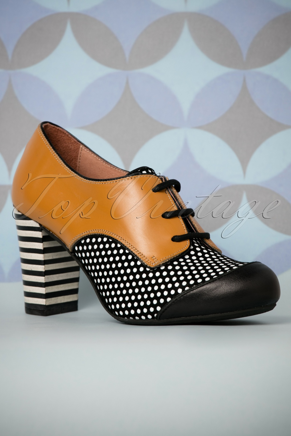 Vintage Style Shoes, Vintage Inspired Shoes 60s Listas Leather Booties in Mustard Yellow £106.76 AT vintagedancer.com