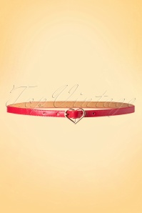 50s My Heart Belt in Red