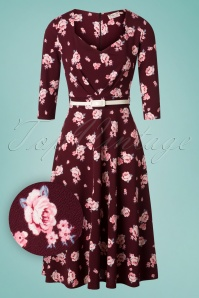 Vintage Chic Floral Swing Dress 102 69 26460 20180706 0009W1