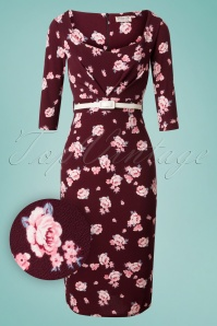 Vintage Chic Floral Pencil Dress 100 69 26345 20180706 0001W1