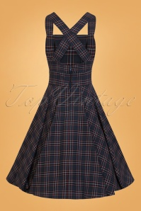 Bunny Peebles Pinafore Navy Dress 25822 02W