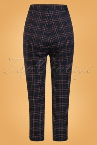 Bunny Peebles Cigarette Trousers Navy 131 39 25858 02W