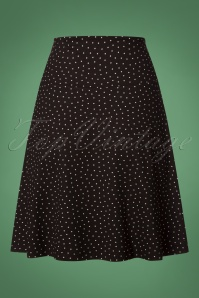 King Louie 60s Little Dots Border Skirt 123 14 25265 20180709 0004W