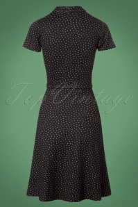 King Louie Emmy Dress Little Dots in Black 25266 20180621 0005W