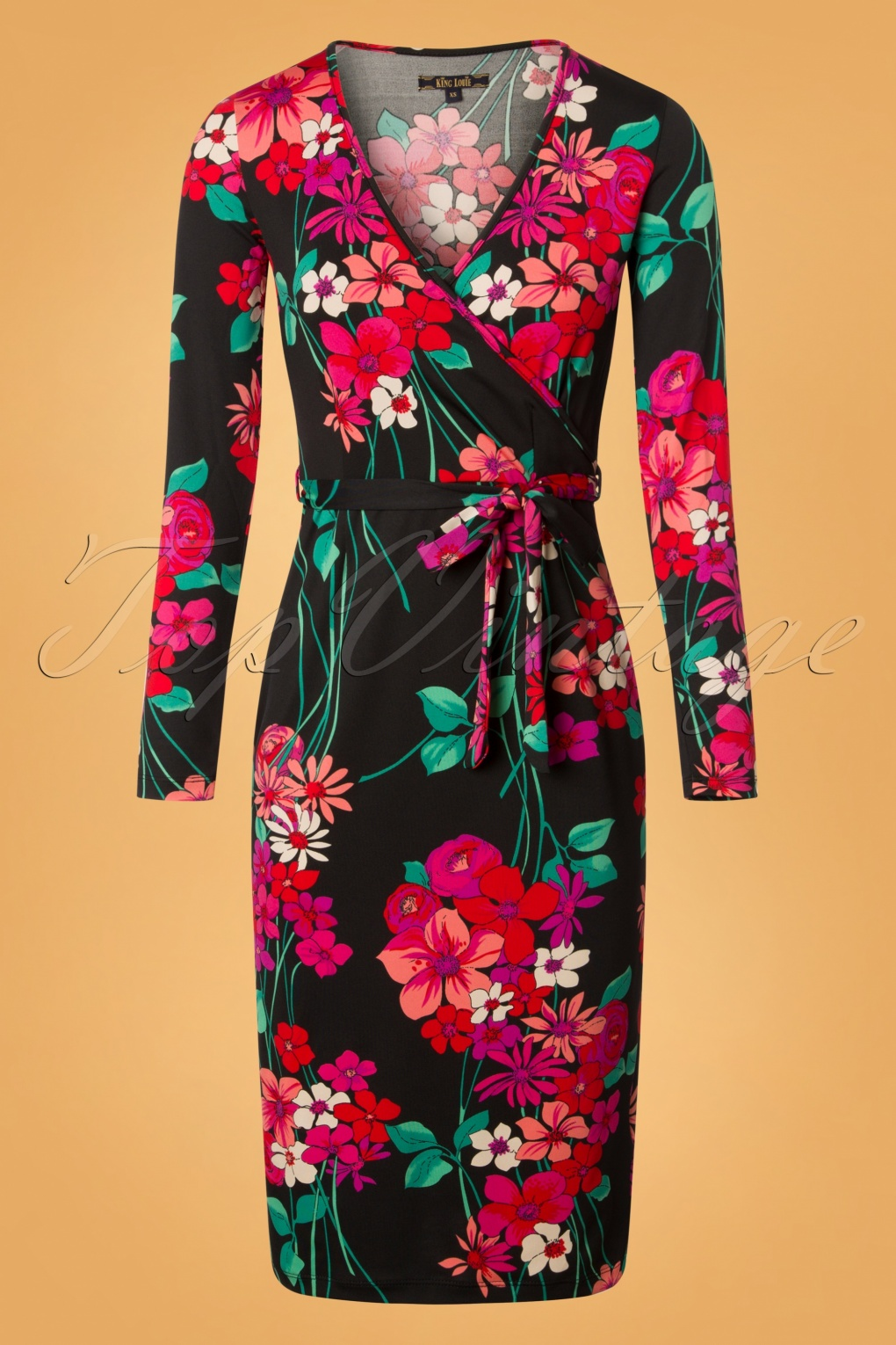 60s Style: How to Recreate the Outfits 60s Anja Eden Pencil Dress in Black £84.02 AT vintagedancer.com