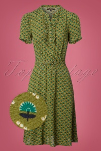 King Louie Posey Green Dress 102 49 25239 20180717 0001wv