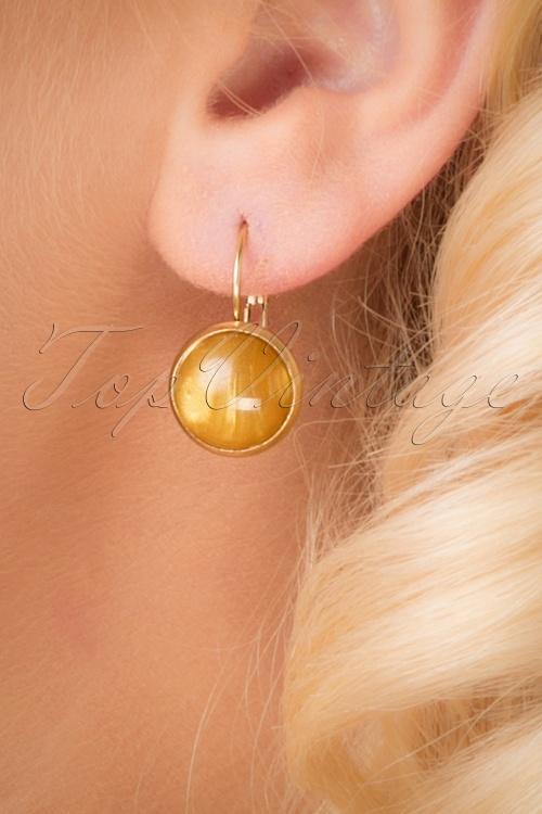 Urban Hippies Yellow earrings 333 80 26594 07122018 011W