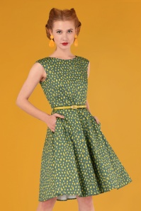 Closet London Green and Gold Dress 102 49 26605 20180717 0015