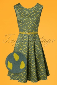 Closet London Green and Gold Dress 102 49 26605 20180717 0004wv