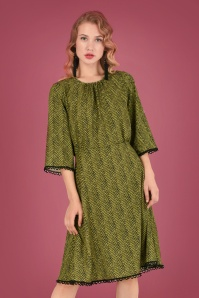 Closet London Green Stripes Dress 106 49 26606 20180717 0011