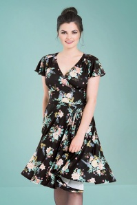 Bunny Black Flora Dress 102 14 25831 19072018 04