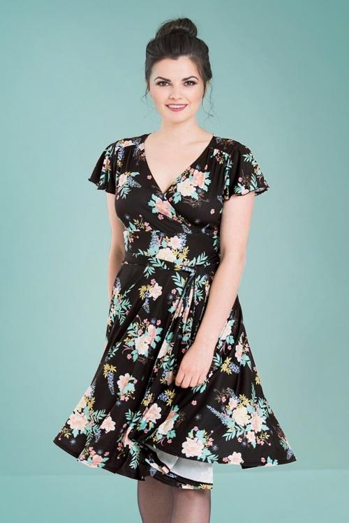 Bunny Black Flora Dress 102 14 25831 19072018 04