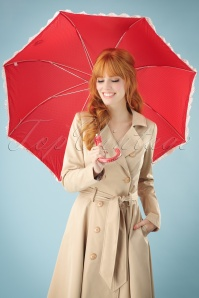 Celestine Red Polkadots Umbrella 270 20 26569 20180711 0001w
