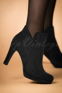 Tamaris Black Booties 441 10 25784 23072018 005w