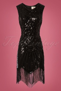 Banned  The Greatest 20s Flapper Dress Black 100 10 26603 20180718 0003W