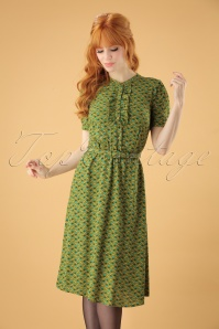 King Louie Posey Green Dress 102 49 25239 20180717 0008W