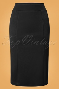 King Louie Black Tube Skirt 120 10 25270 12072018 01W