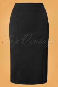 King Louie Black Tube Skirt 120 10 25270 12072018 01W