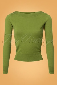 King Louie Audrey Top Cottonclub in Posey Green 25244 20180621 0004W