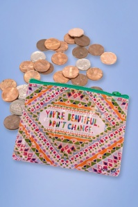 You're Beautiful Coin Purse Années 50