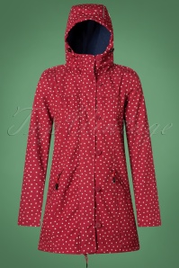 Blutsgeschwister Wild Weather Polkadot Red Raincoat 26050 20180725 0004W