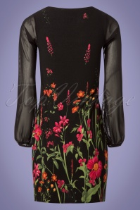 Vintage Chic Black Floral Dress 106 14 24477 20180605 0006w