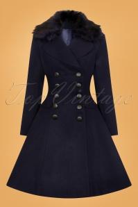 Bunny Milan Coat in Navy 25893 2W
