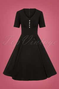 Bunny Mila Swing Dress in Black 25835 1W