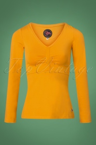 Tante Betsy Romy Shirt in Gold Yellow 113 80 25440 20180727 0002W