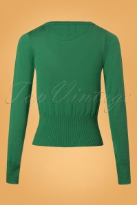 Tante Betsy Cardigan in Green 140 40 25437 20180727 0007W