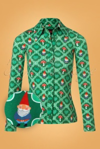 Tante Betsy Green Gnome Blouse 112 49 25431 20180727 0001W1